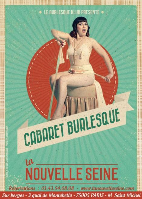 Valentine's day in Paris: cabaret burlesque