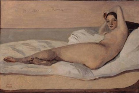 Valentine's day in Paris: nude painting