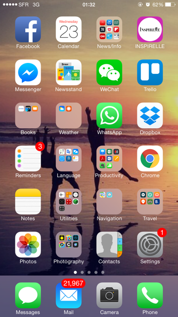 add websites to iPhone