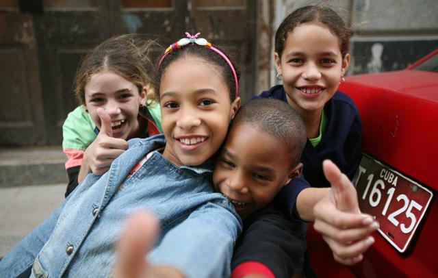 Children in Havana, Cuba © Alexis Duclos