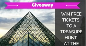 giveaway - treasure hunt at the louvre