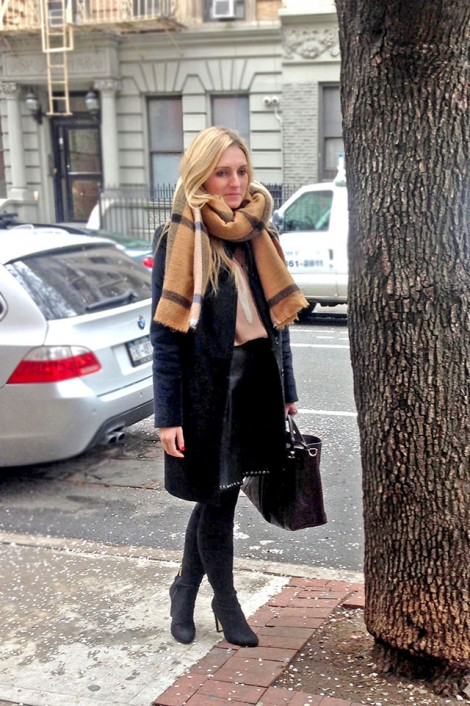Parisian chic and New York style