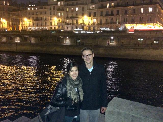 Whitney Donaldson and husband