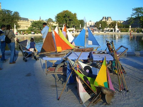 Outdoor Activities in Paris- Tuileries Boats
