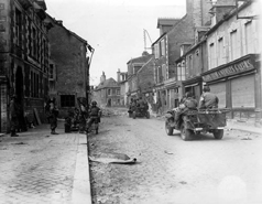 Carentan liberated in 1944