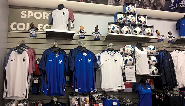 EURO 2016 French team shirts