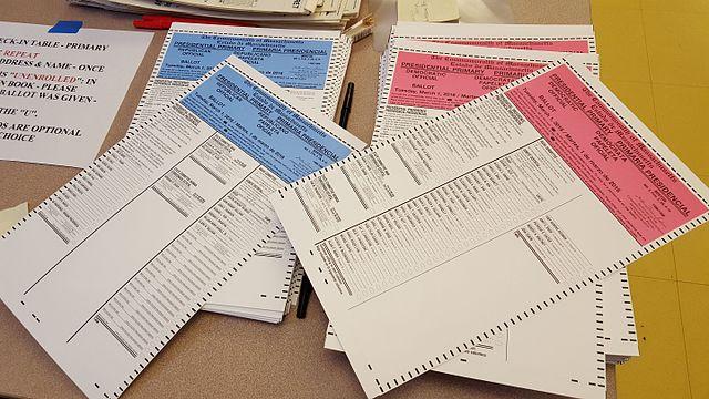 Election Ballots. Photo: Whoisjohngalt/ Wikimedia Commons