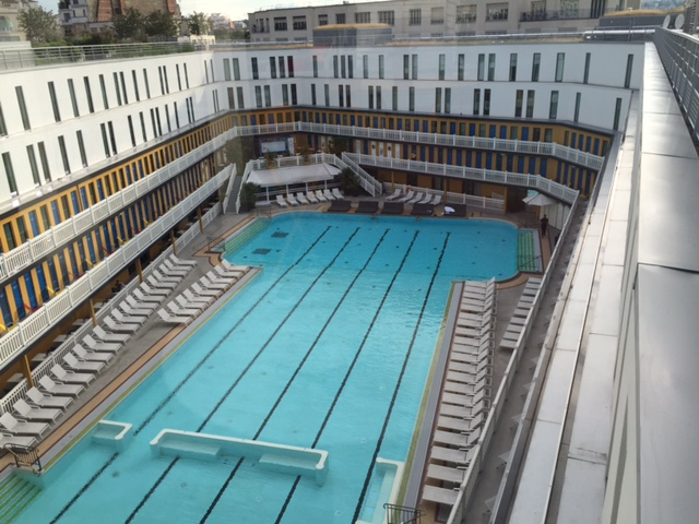 Molitor Pool in Paris