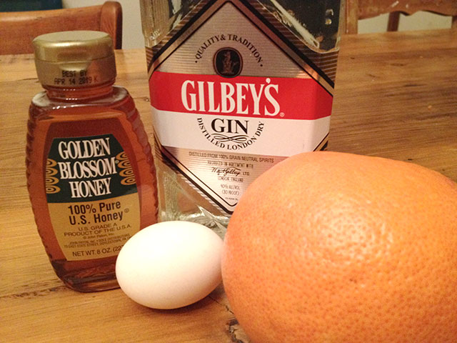 Grapefruit Fizz ingredients