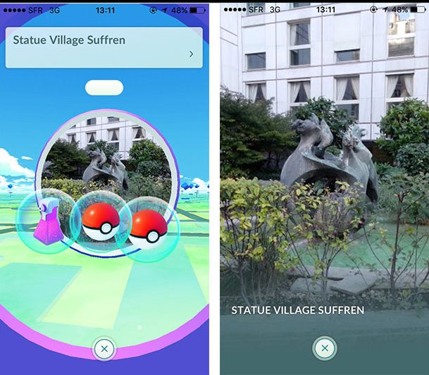 Pokemon Go - Pokestop