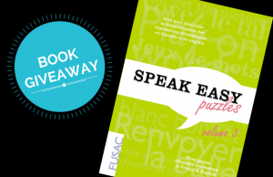Speak Easy Puzzles book giveaway