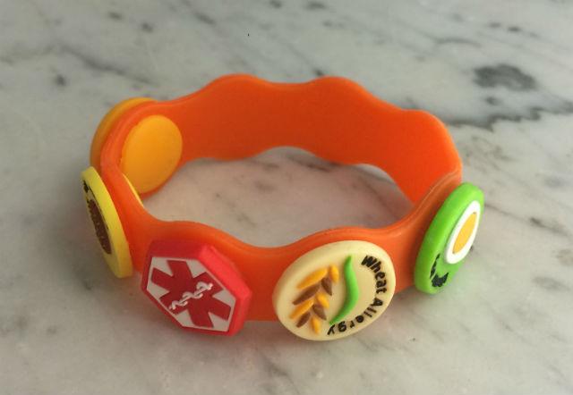 bracelet for food allergies at school