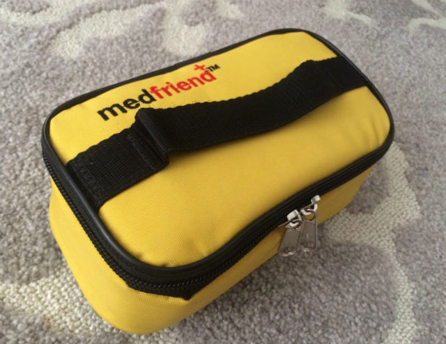 medical trousse for child with food allergies at school