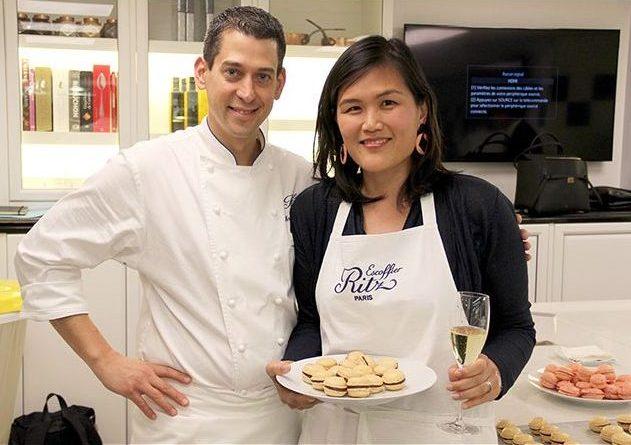 macaron class at Ritz Paris