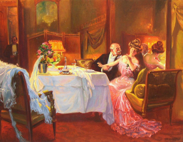 The Seduction by Max Silibert. © Wikimedia Commons