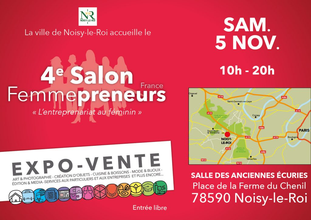Things to do in Paris - Salon Femmepreneurs