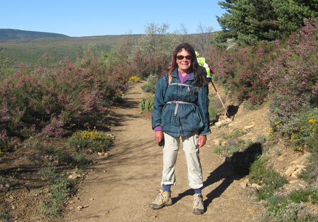 Author on the trail © Patty Lurie