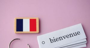 french woman returns home
