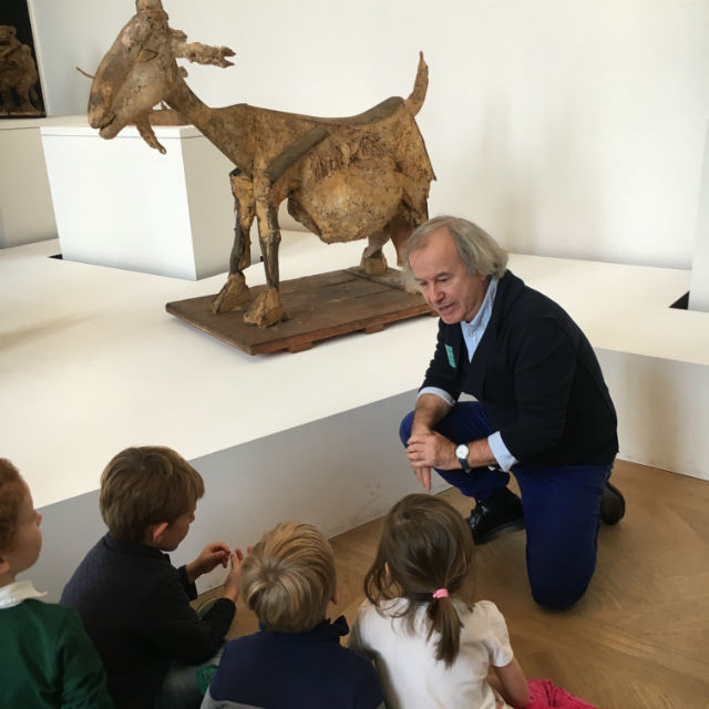 Curated museum visits in Paris for children © Apprends et Reve