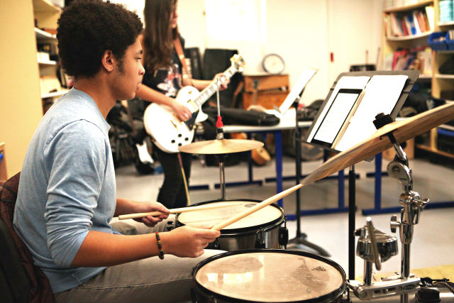drumming at ISP