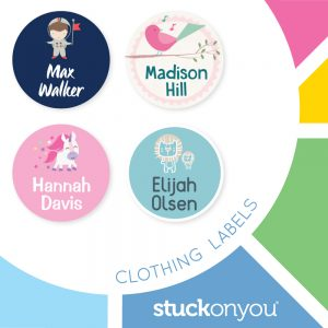 stuck on you clothing labels