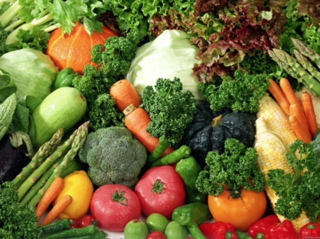 Vegetables, Food sources of Vitamins