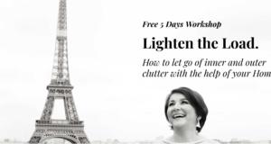 workshop lighten your load