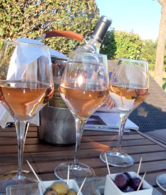rose wine in Provence