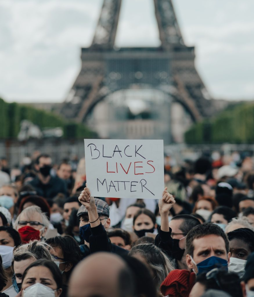 Protesters in France
