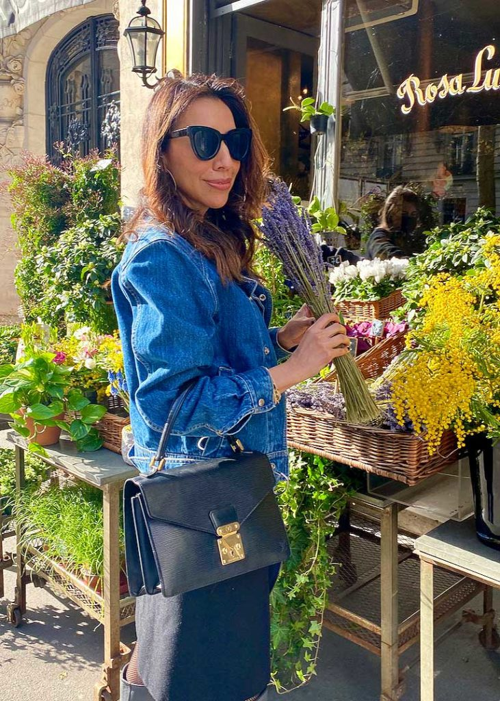 Letitia Gonzales Louis Vuitton bag