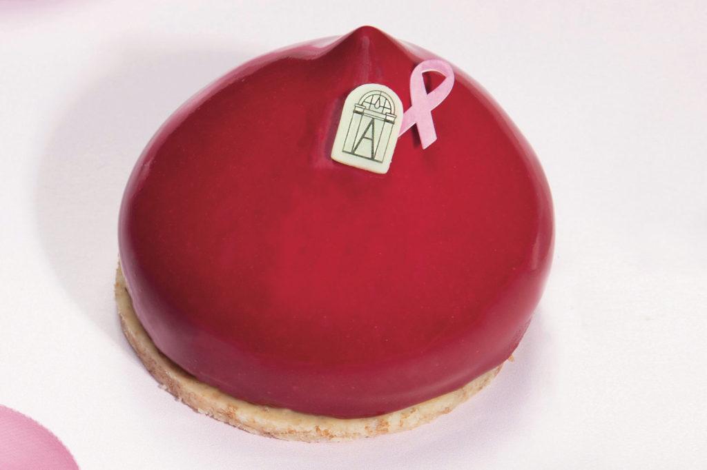 Angelina Rosalie Pastry for Octobre Rose 2021
